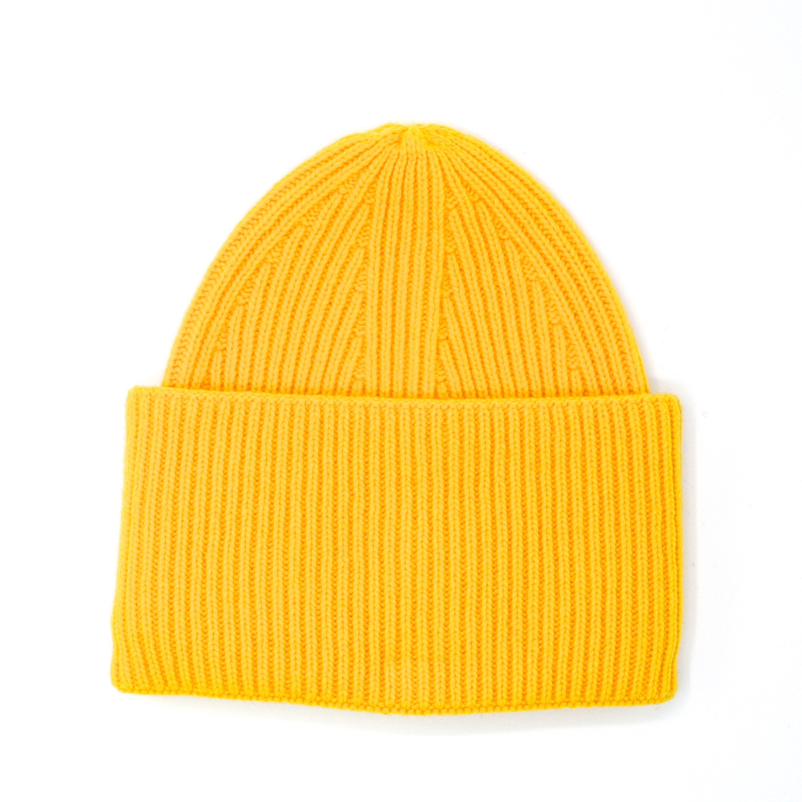 Mc Burn Beanie Wool Yellow
