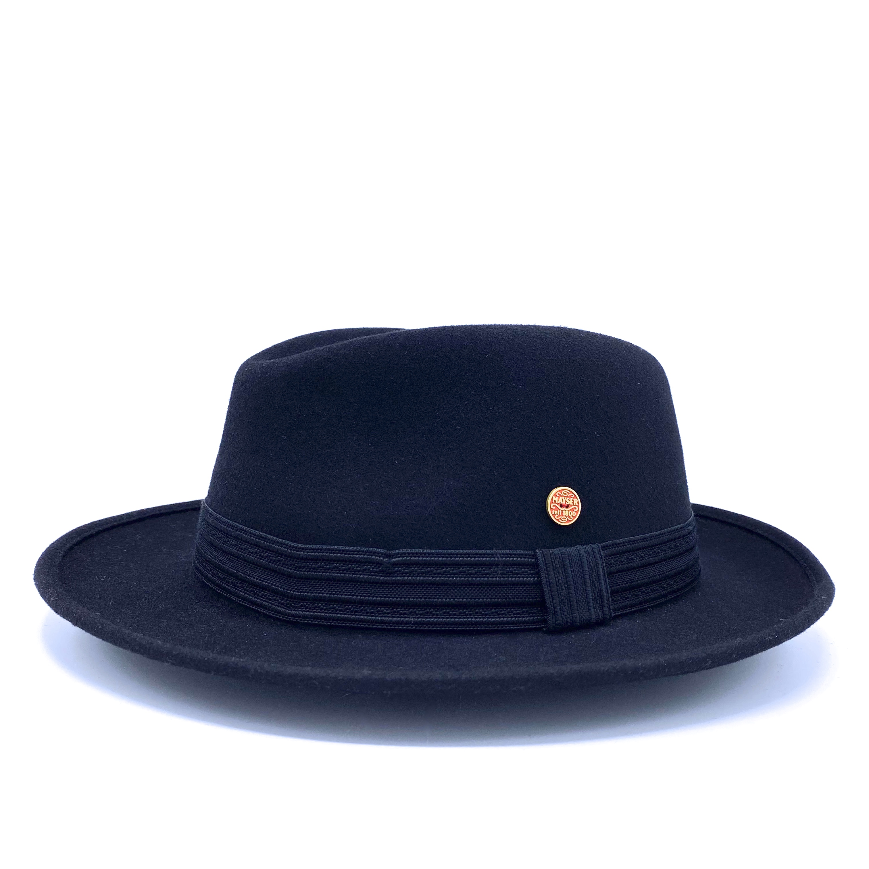 Mayser Laurel Fedora Black