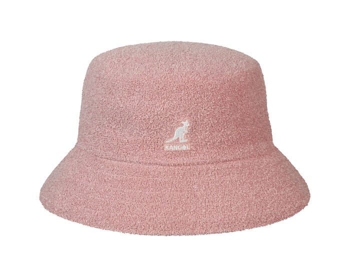 Kangol Bermuda Bucket Hat Dusty Rose