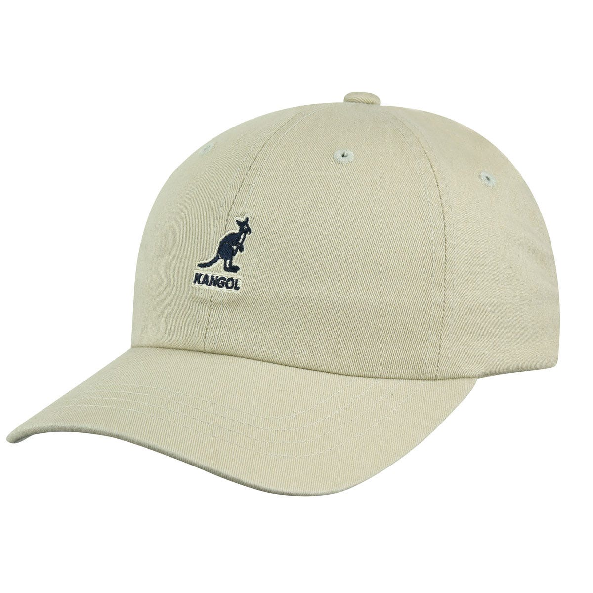 Kangol Washed Baseball Khaki