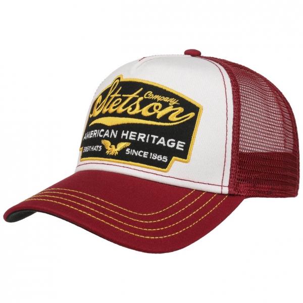 Stetson Trucker Cap American Heritage Bordeaux