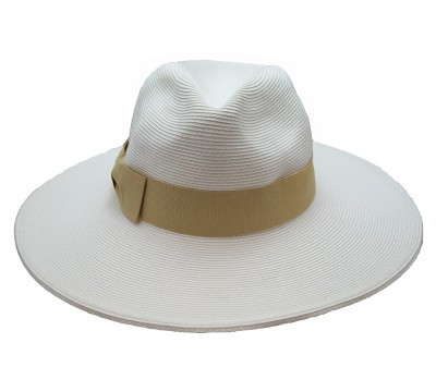 Bronté Fedora Veronique White