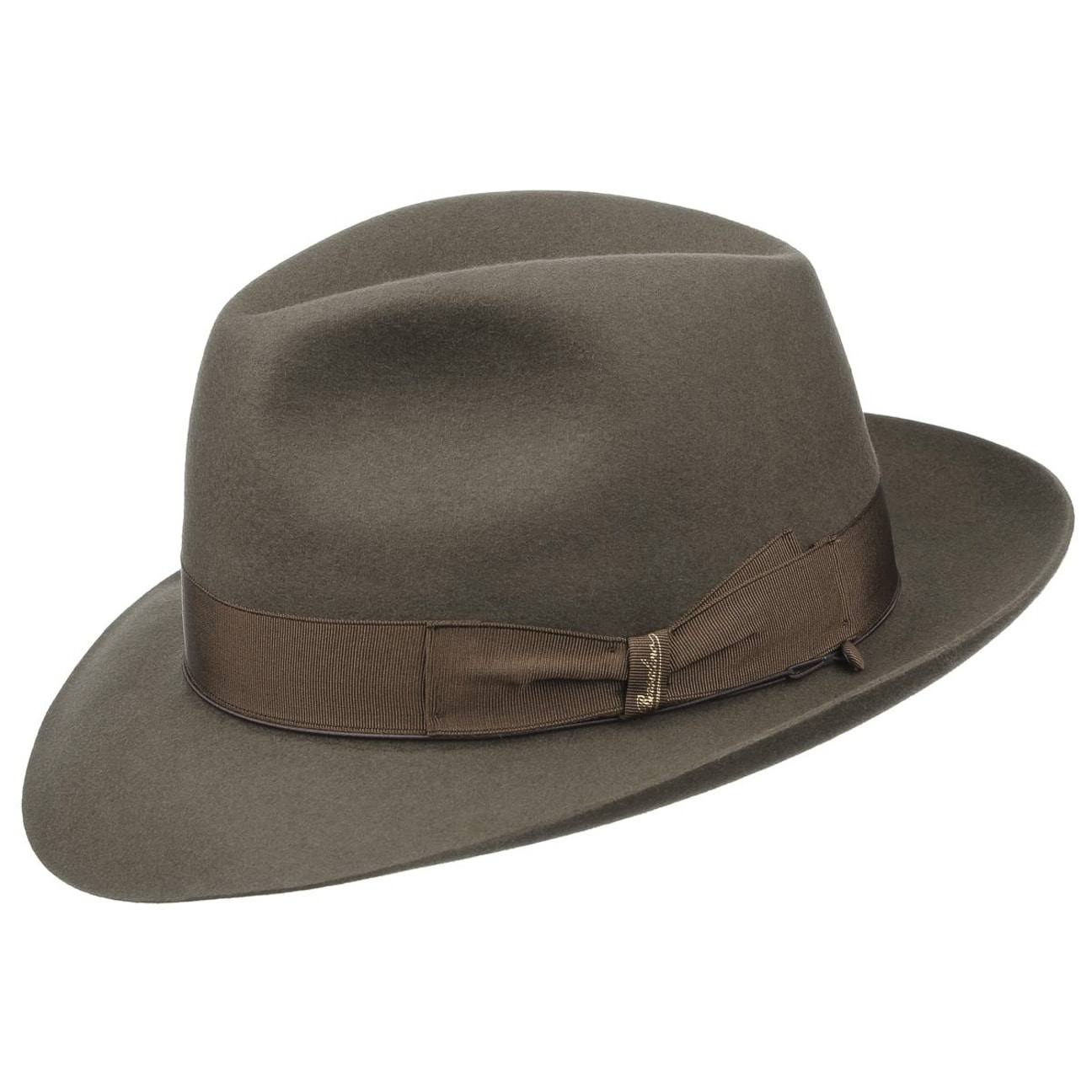 Borsalino Alessandria Fedora Light Brown