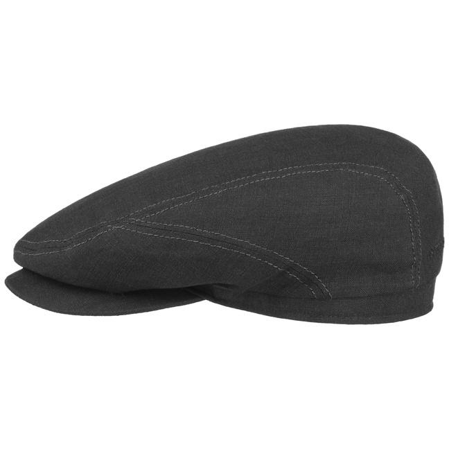 Stetson Belfast Driver Cap Linen Black