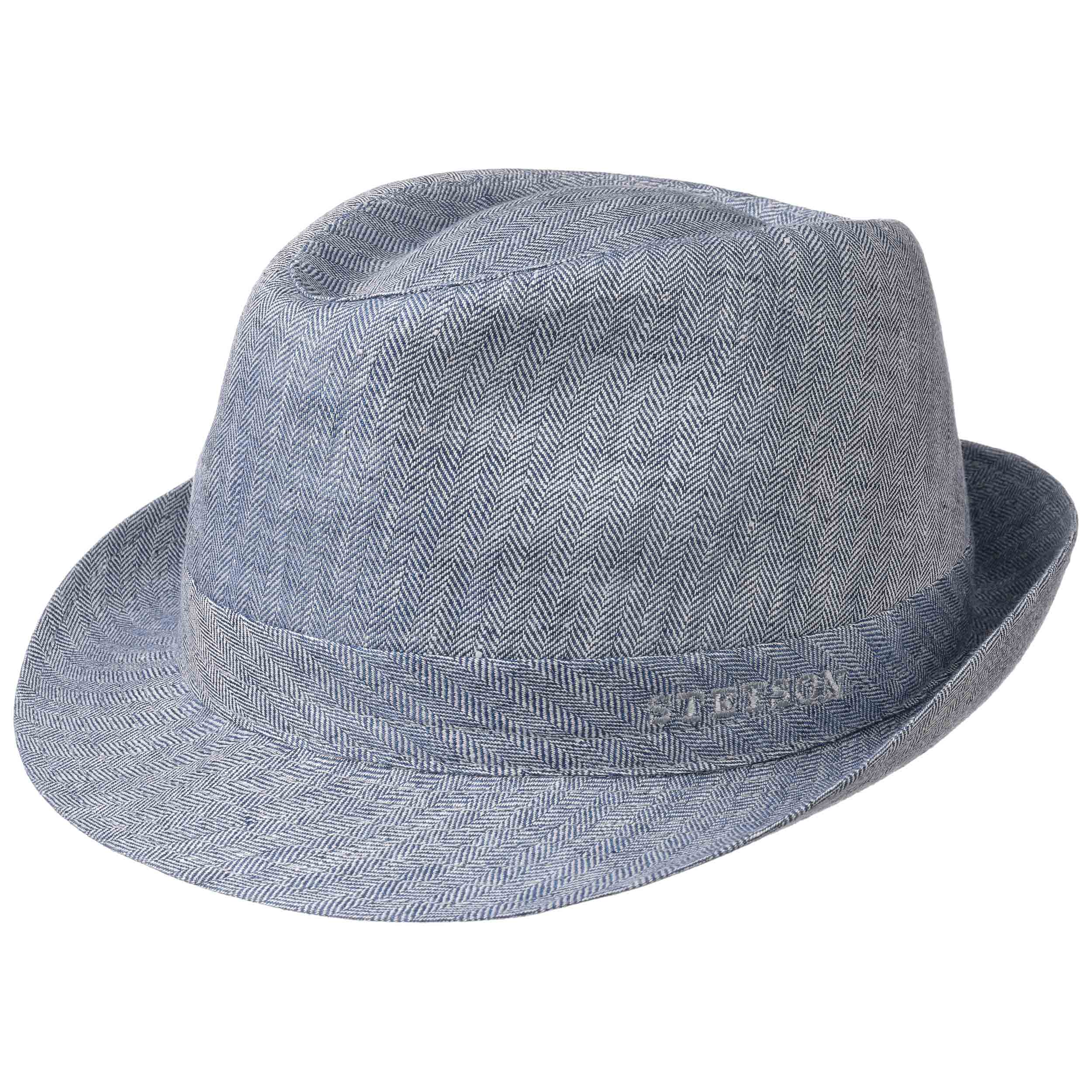 Stetson Osceola Trilby Linen Light blue