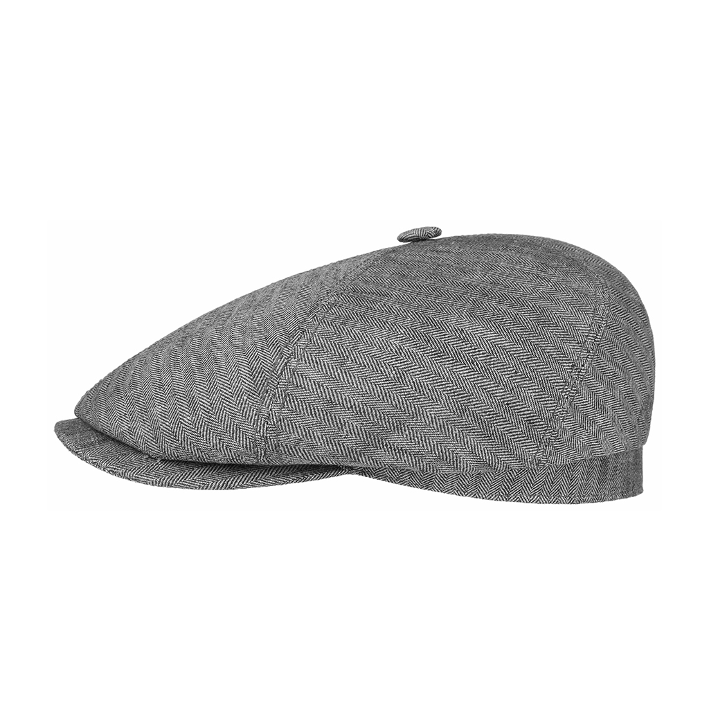 Stetson Brooklin 6 Panel Cap Grey