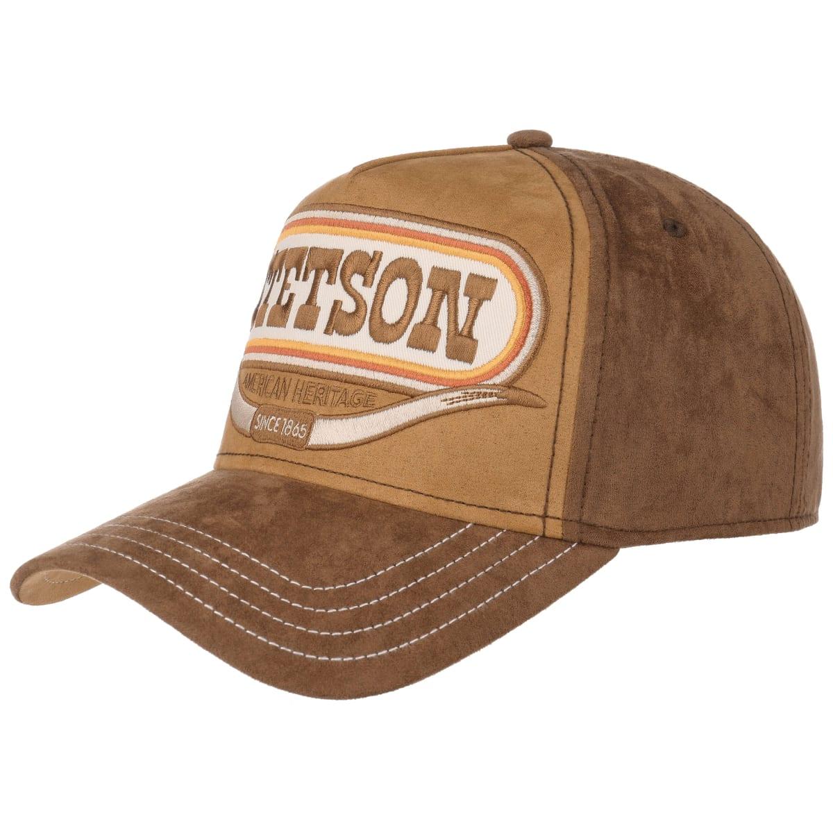 Stetson Trucker Cap Buffalo Horn