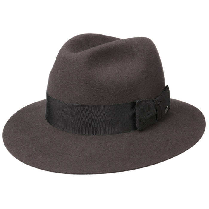 Stetson Traveller Furfelt Dark Brown/Black