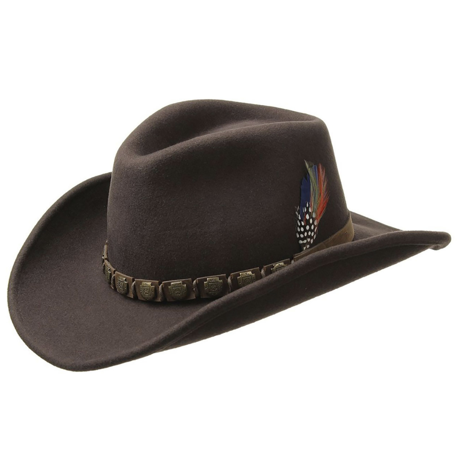 Stetson Hackberry Western Wool Brown