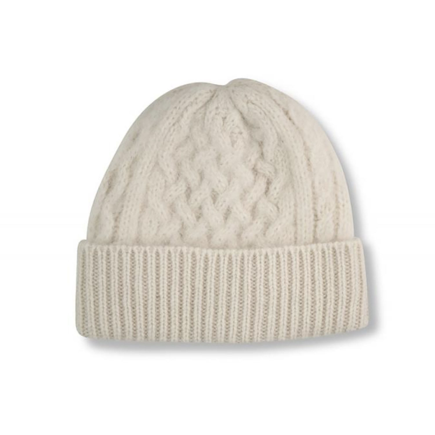 Börjesson Knit Beanie White