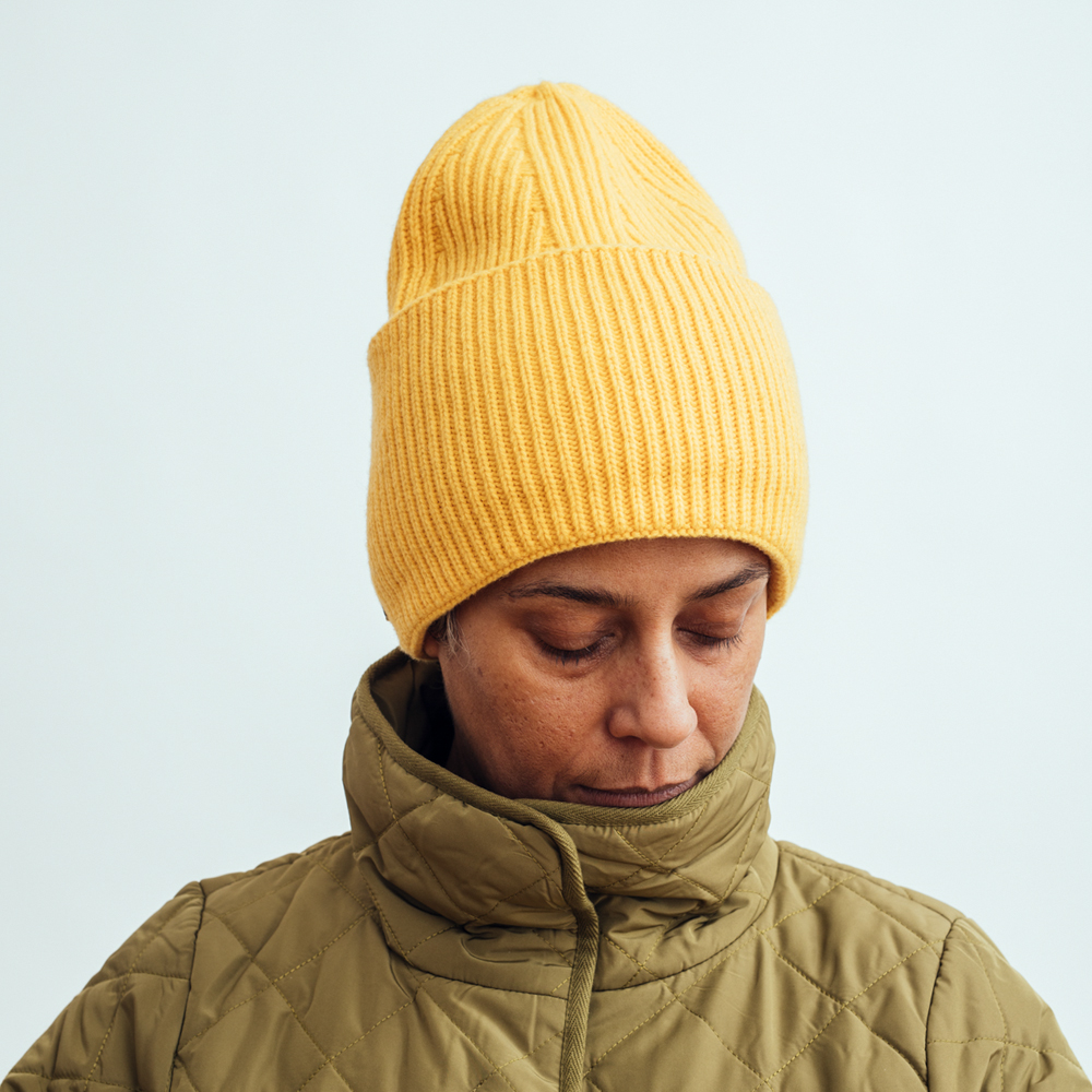 Mc Burn Beanie Wool Yellow