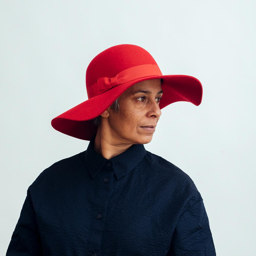 Seeberger Felt Floppy Hat - Flera Färgval