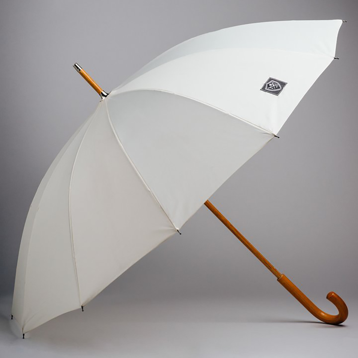 Rain & Son Klassiskt Paraply Vitt