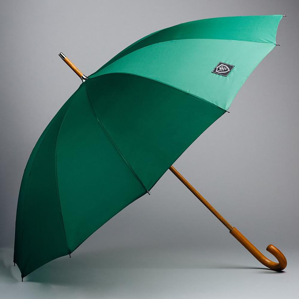 Rain & Son Klassiskt Paraply Grönt