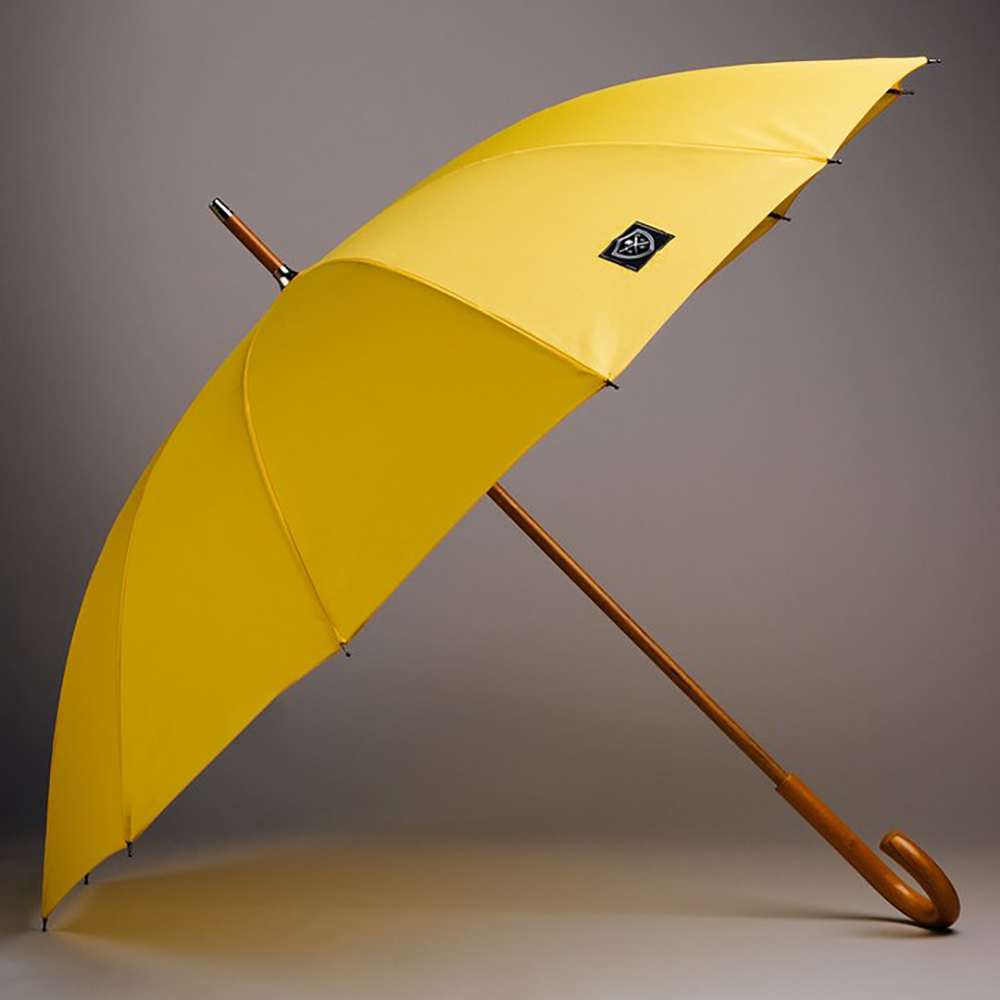 Rain & Son Klassiskt Paraply Gult