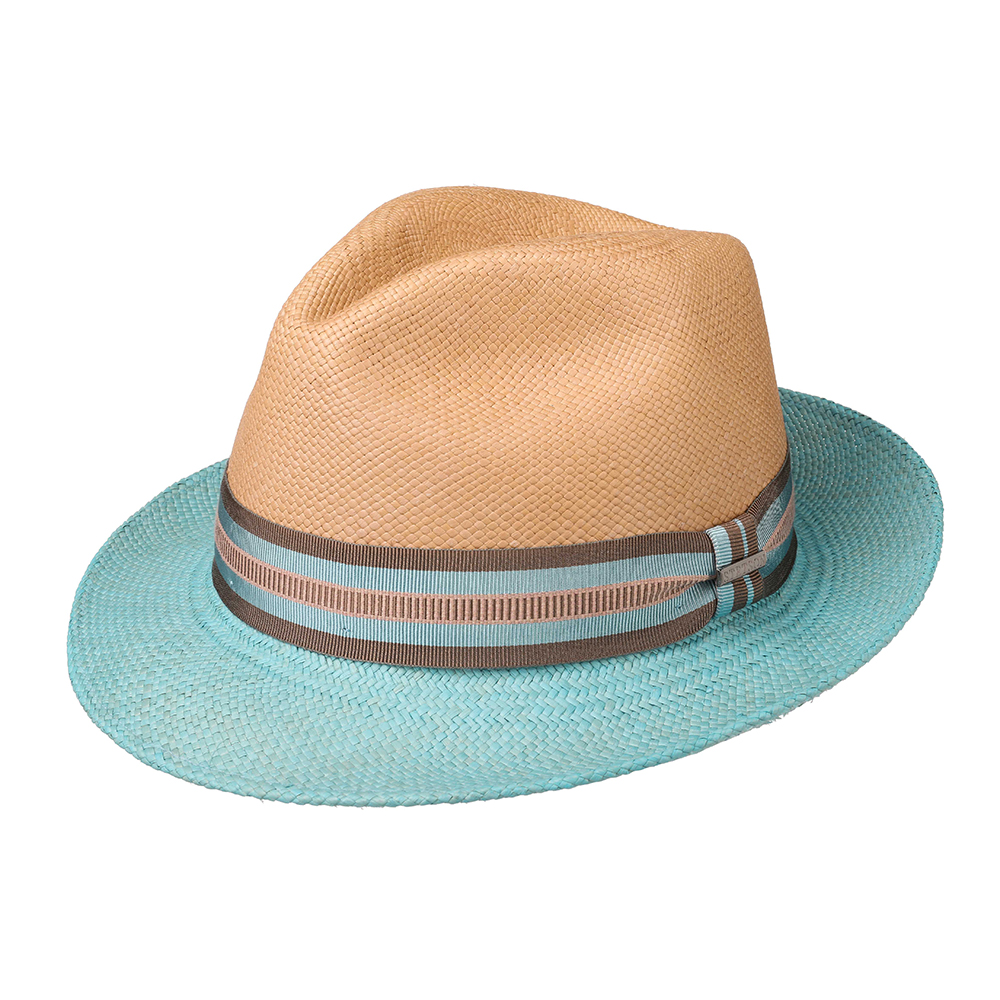Stetson Panama Trilby Two Colors