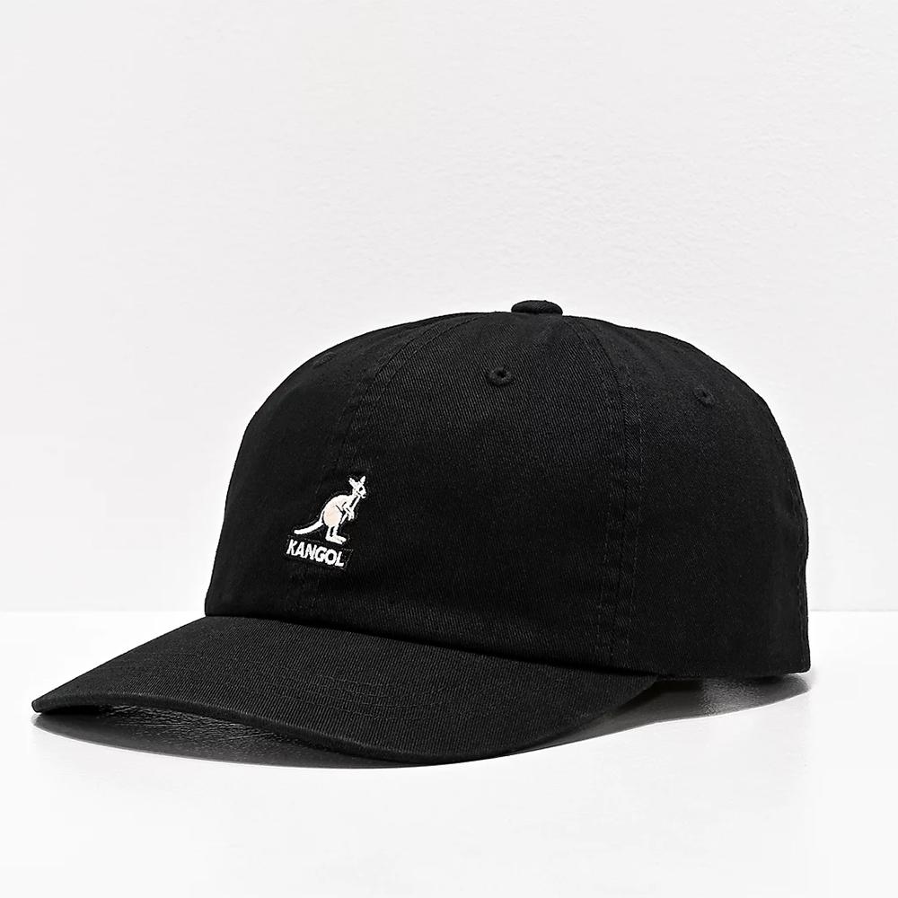 Kangol Washed Baseball Black