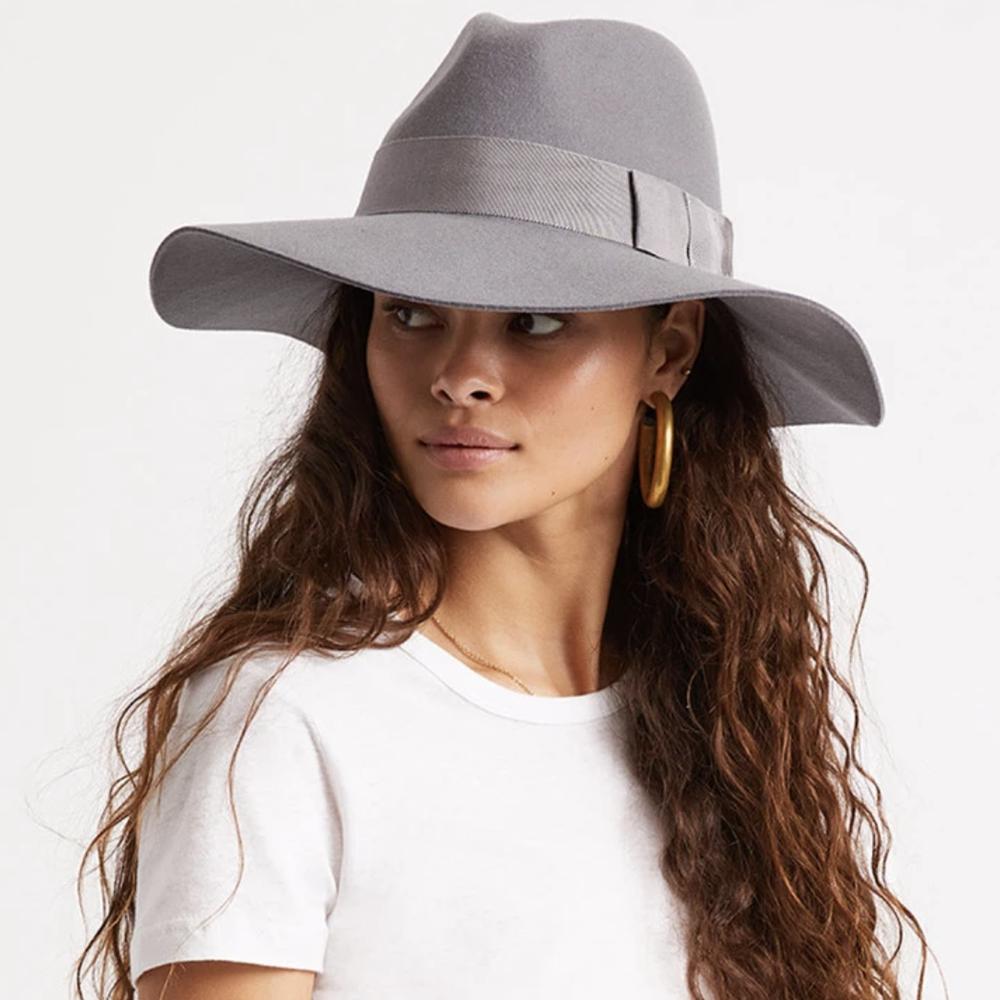 Brixton Piper Hat Grey