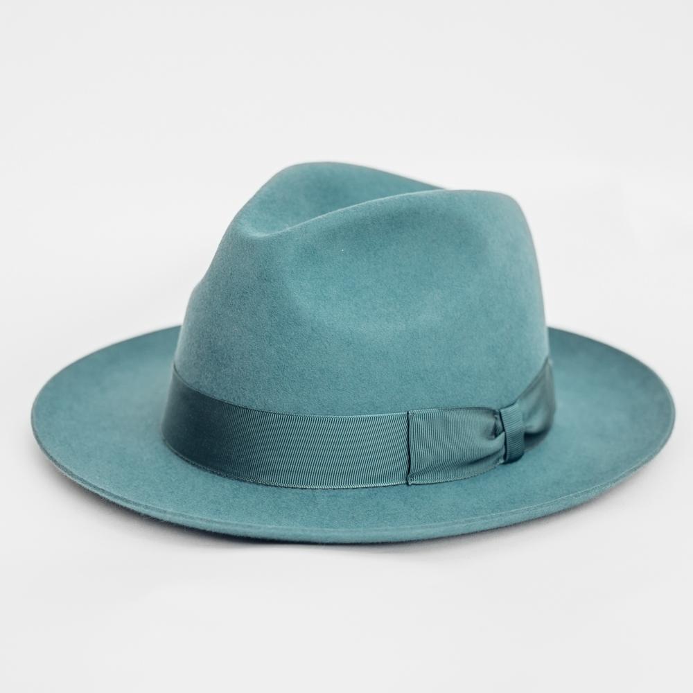 Hatthyllan Jonathan Fedora Turquoise