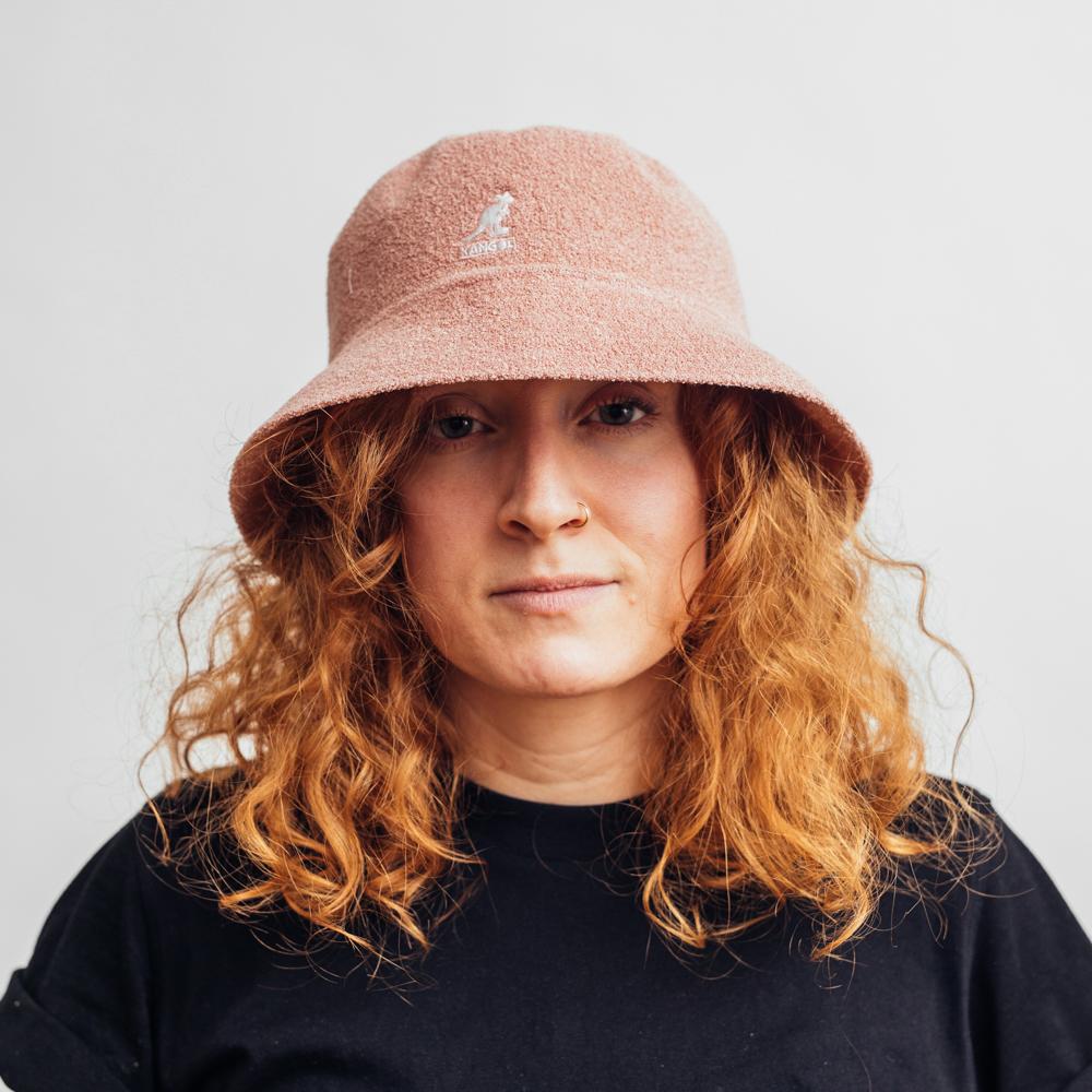 Kangol Bermuda Bucket Hat Dusty Rose