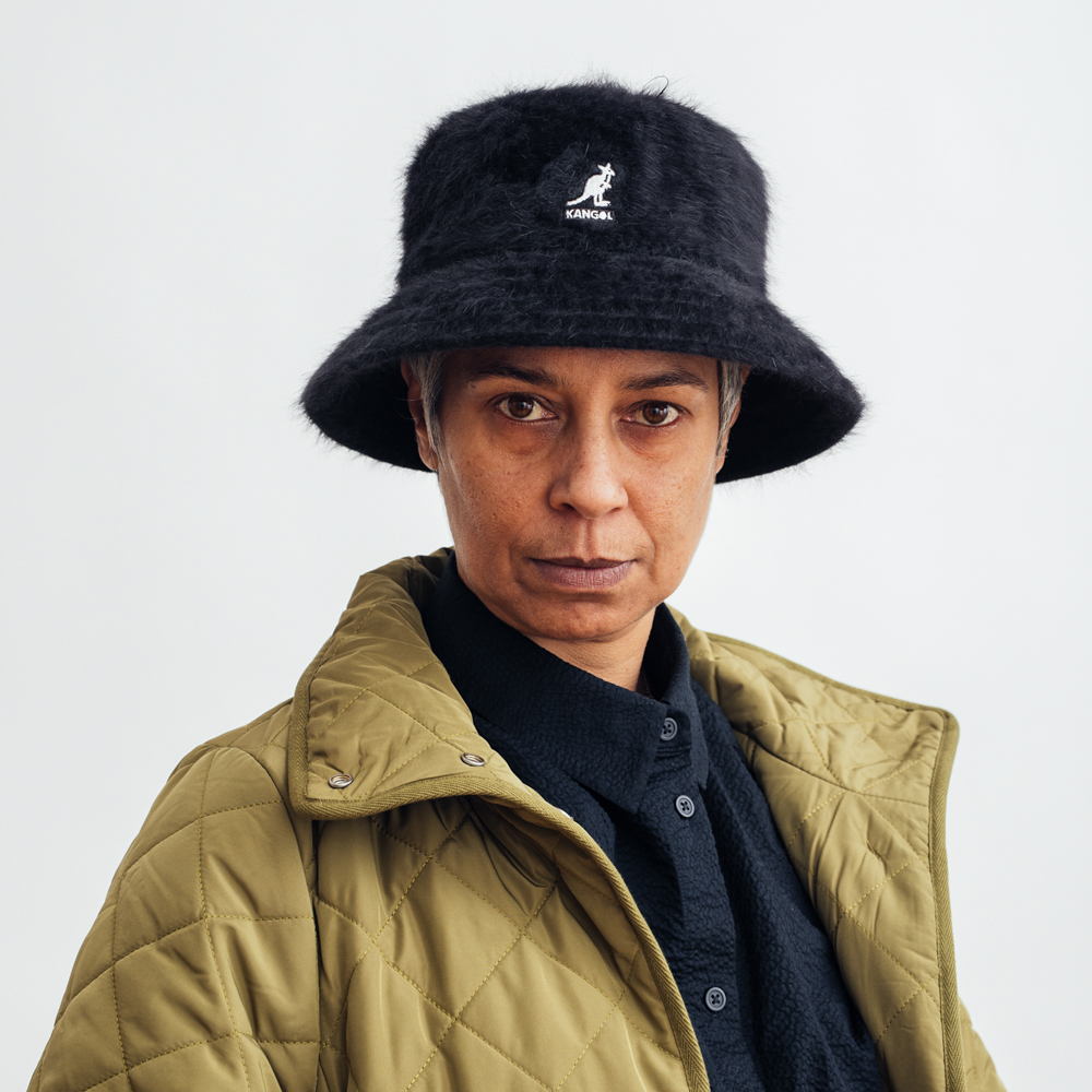 Kangol Fugora Bucket Hat Black