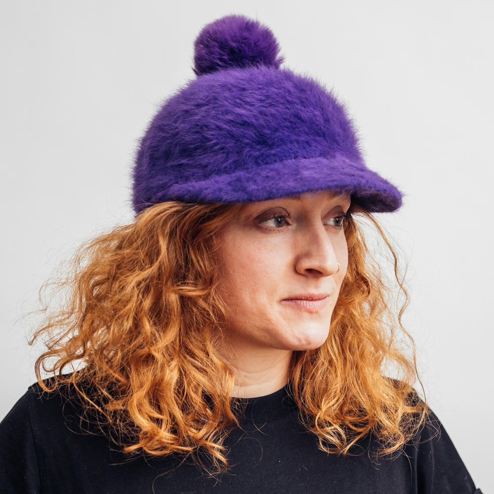 Kangol Pom Spacecap Purple