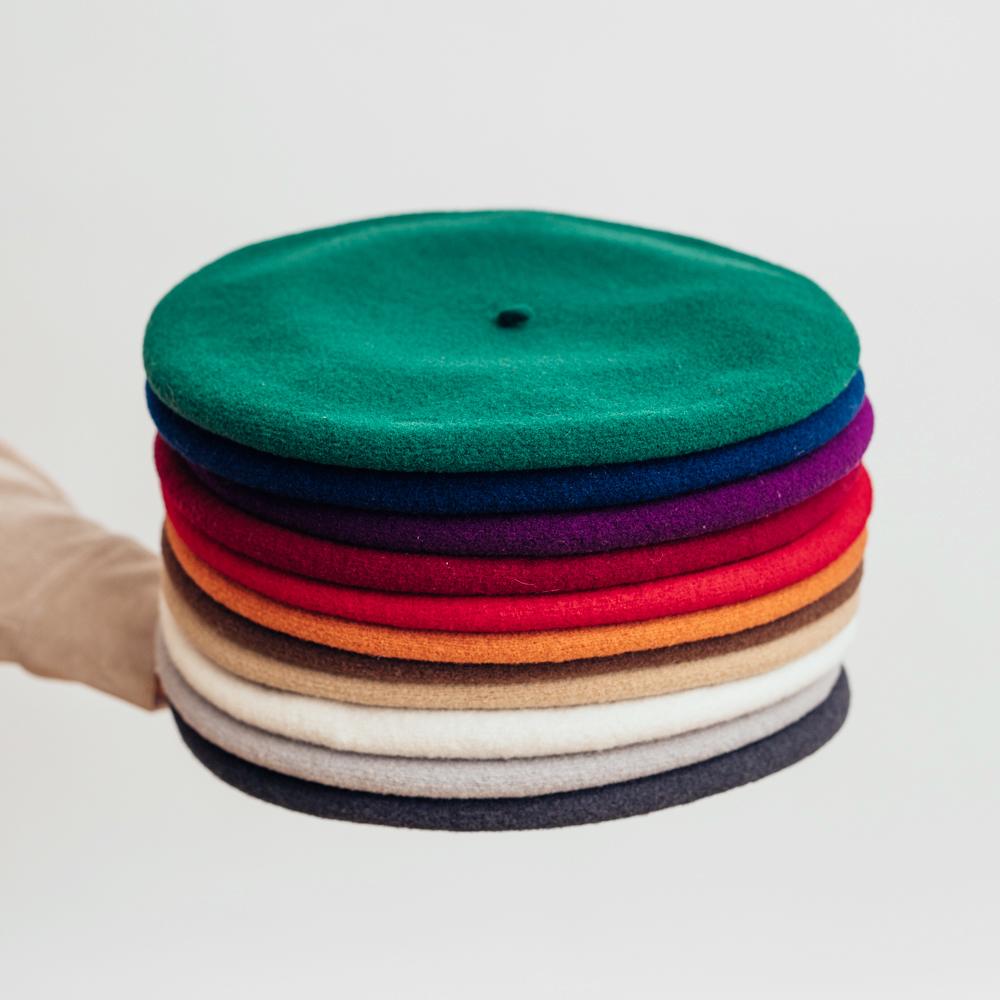Laulhère Beret Authentique - Flera färgval