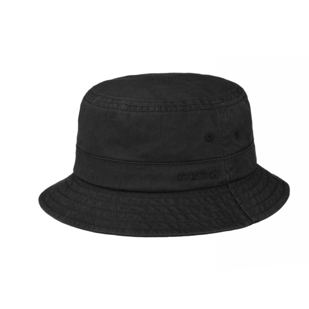 Stetson Bucket Cotton Twill Black