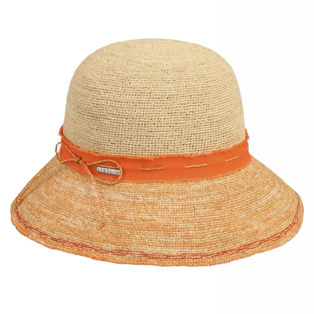 Stetson Ladies Crochet Orange