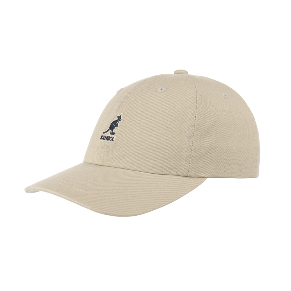Kangol Washed Baseball Beige