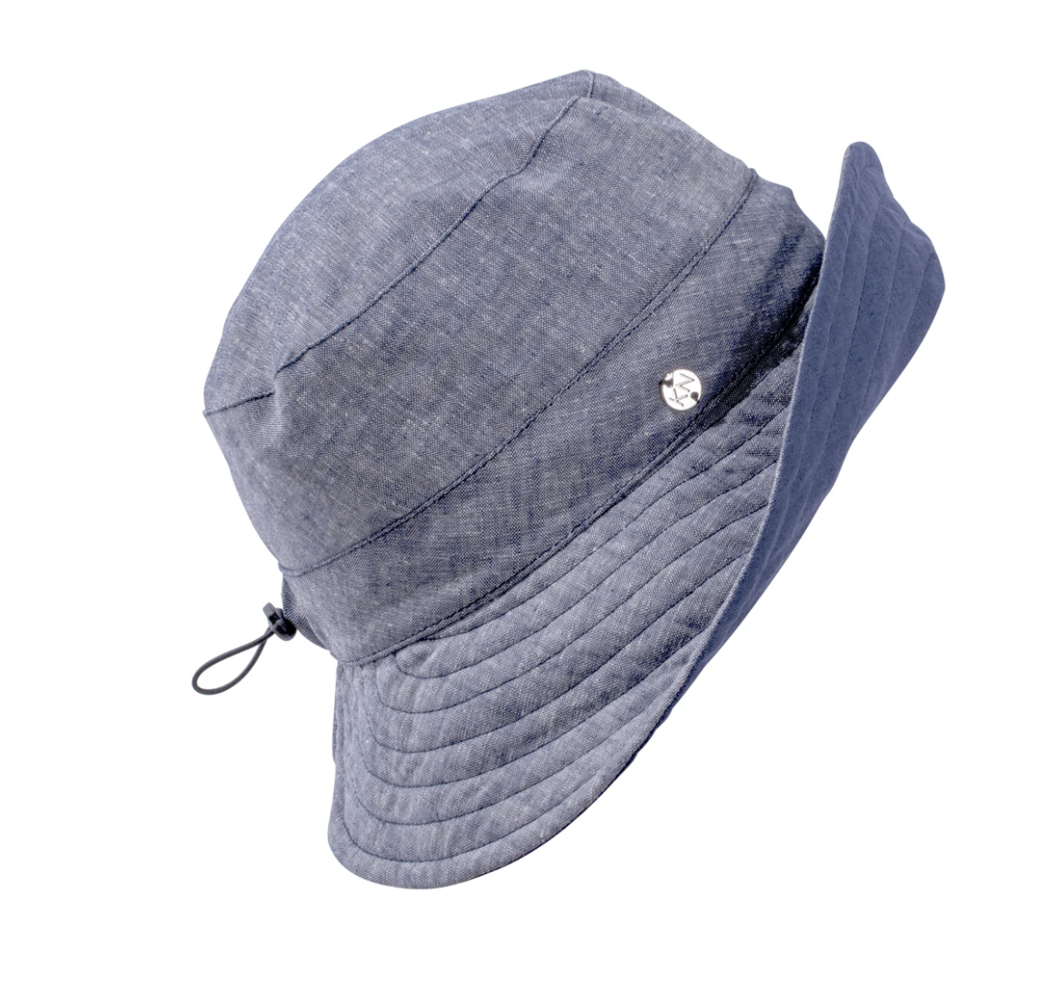 Kn Kati Niemi Mustikka Bucket Hat Dark Blue