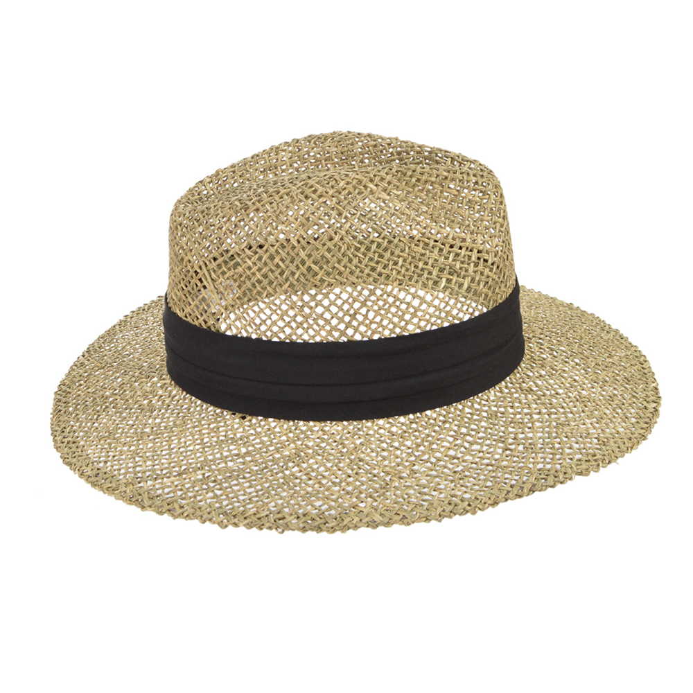 Seeberger Seagrass Hat Men