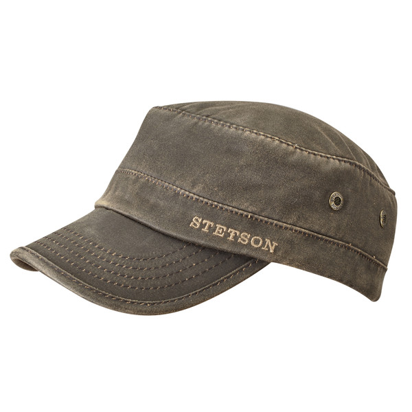 Stetson Army Adjustable Cap Brown