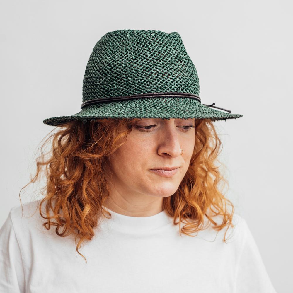 Wigéns Fedora Country Hat Dark Olive