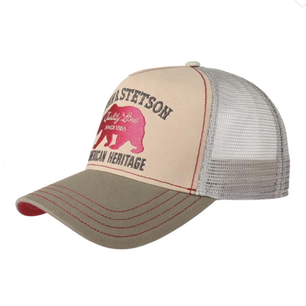 Stetson Trucker Cap Bear