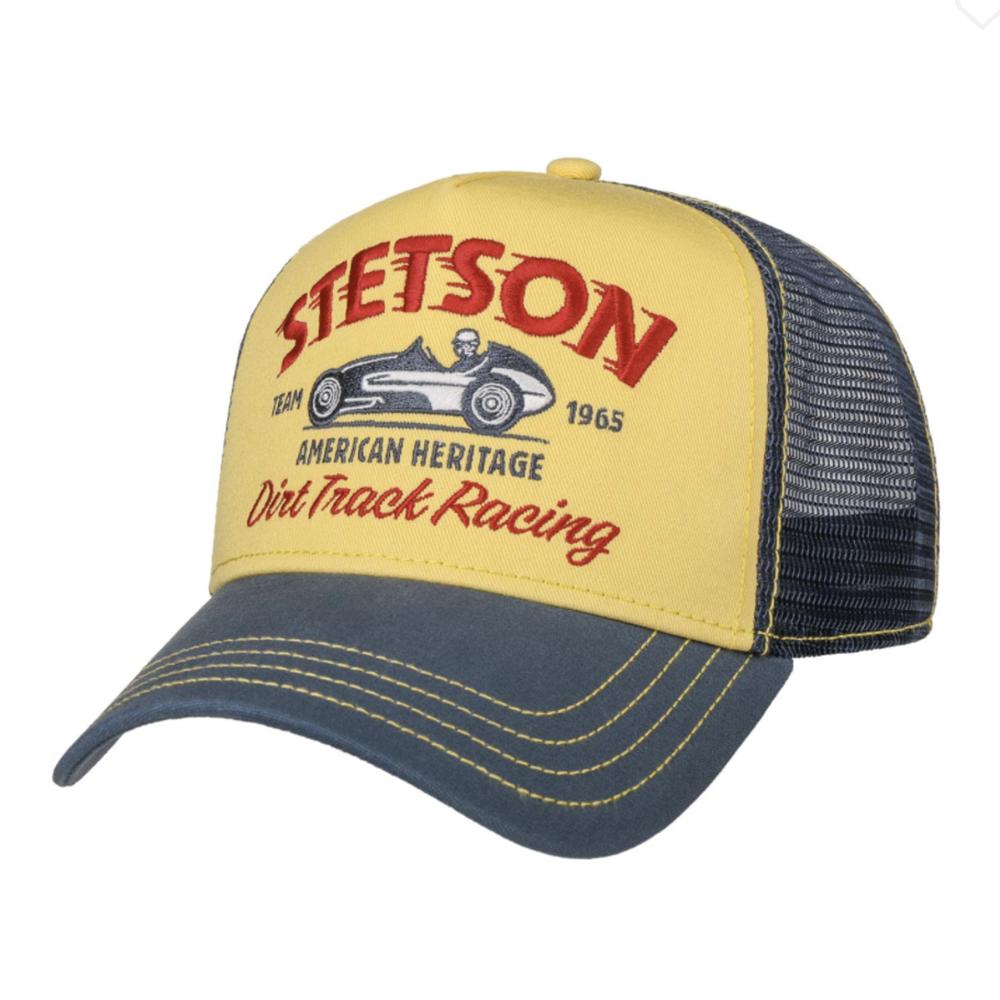 Stetson Trucker Cap Dirt Track Racing