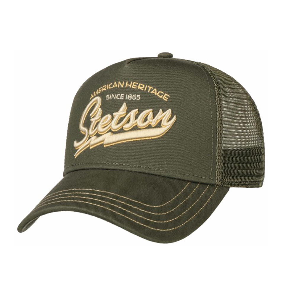 Stetson Trucker Cap American Heritage Classic Green