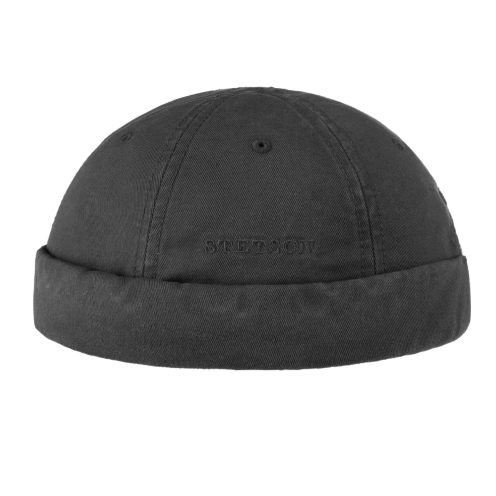 Stetson Docker Cotton Black