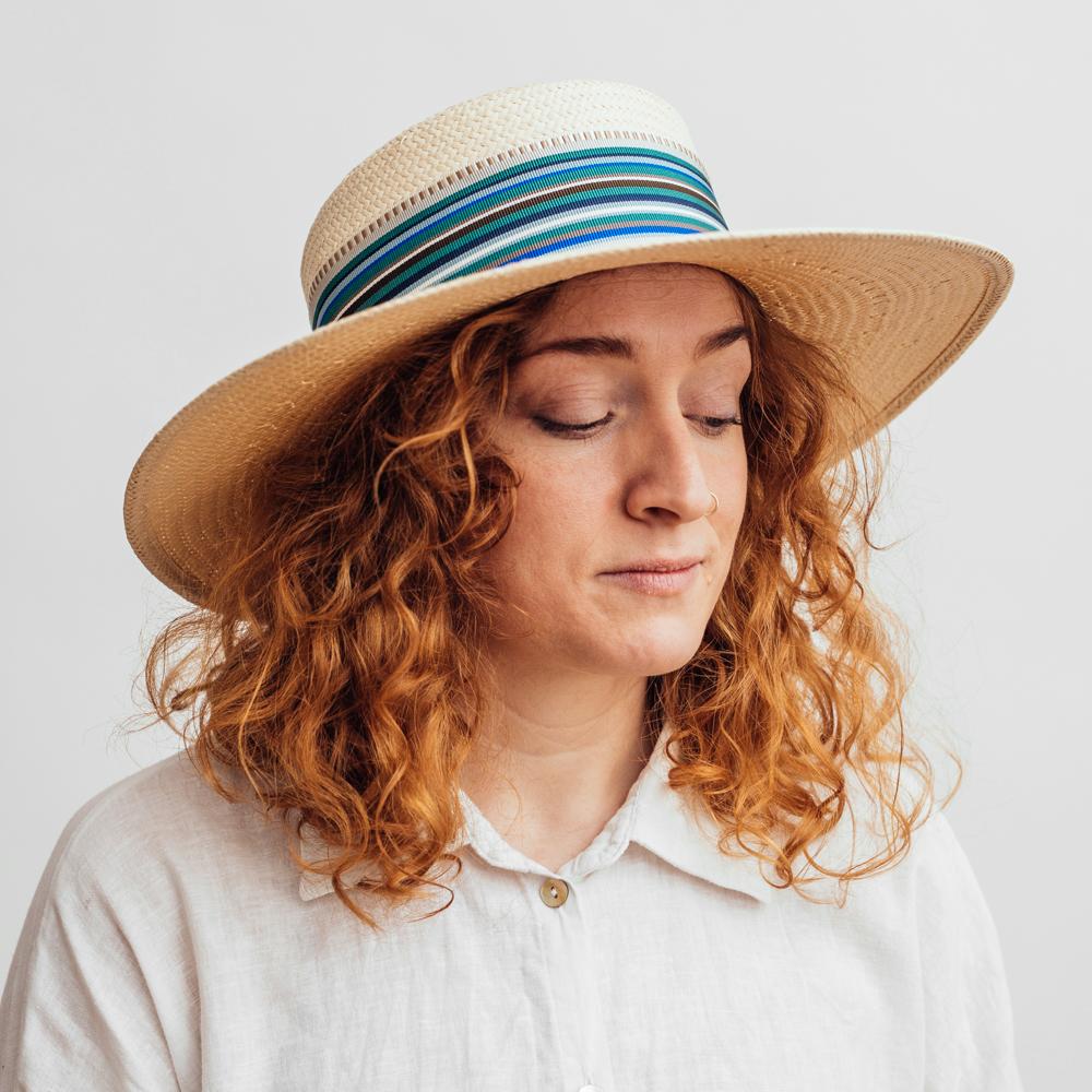Mayser Noreen Paper Natural Straw Hat