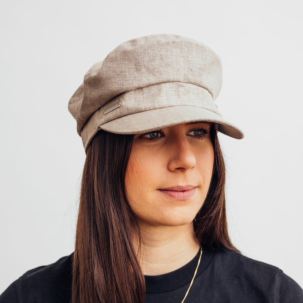 Seeberger Cap Cotton Linen - Flera färgval