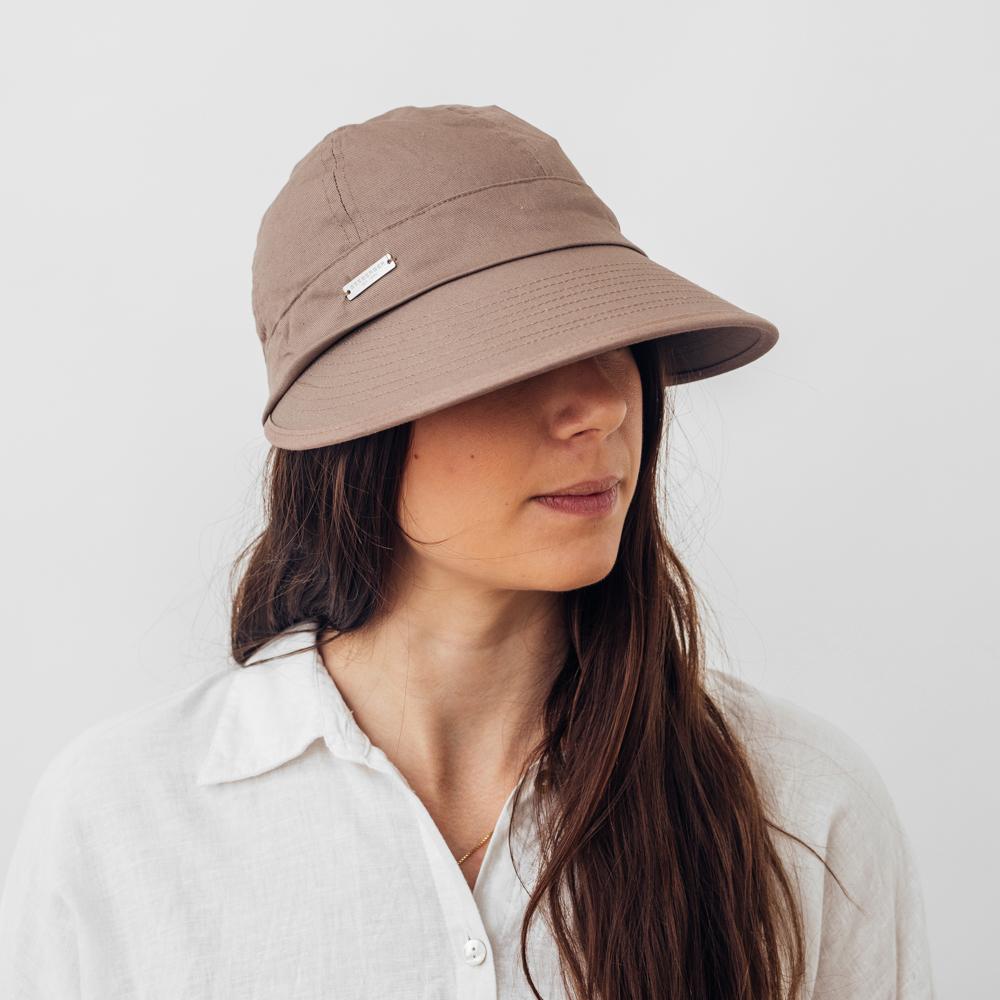 Seeberger Sun Cap Cotton - Flera färgval