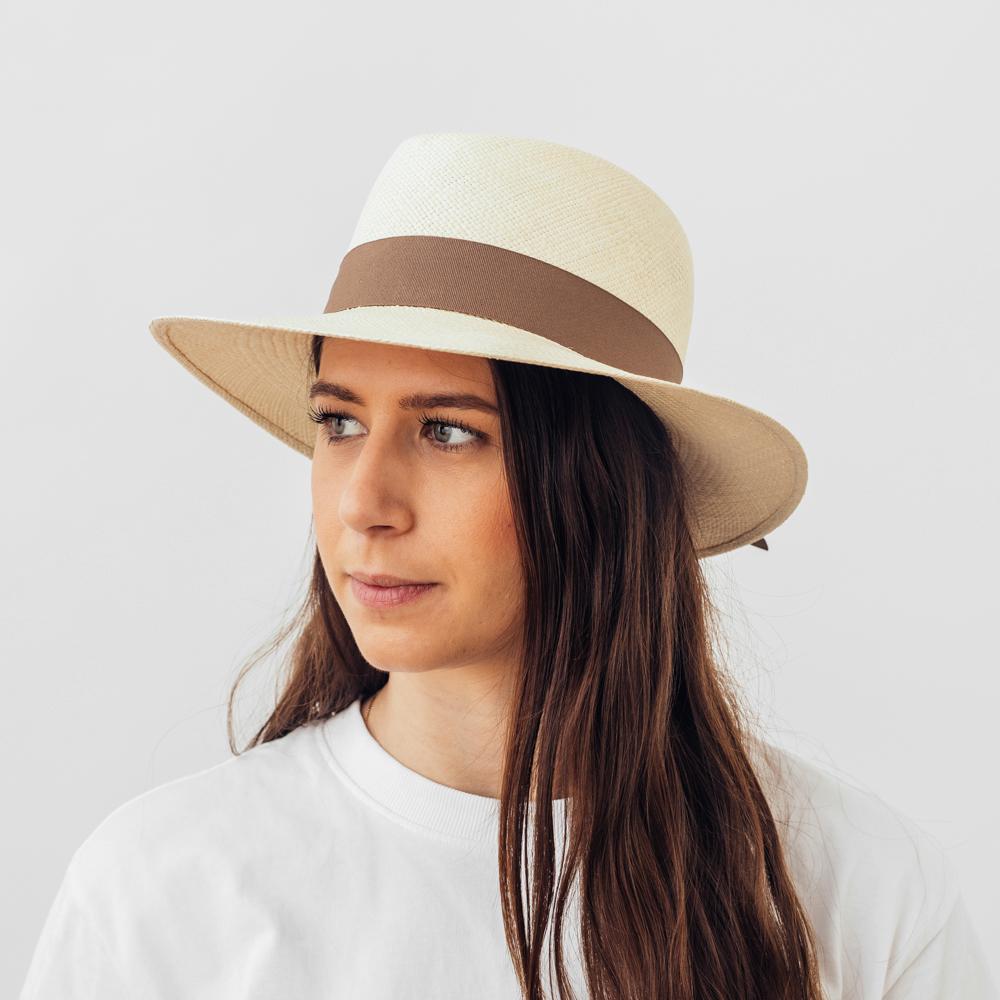 Vintimilla Panama New Bloc Natur/Brown