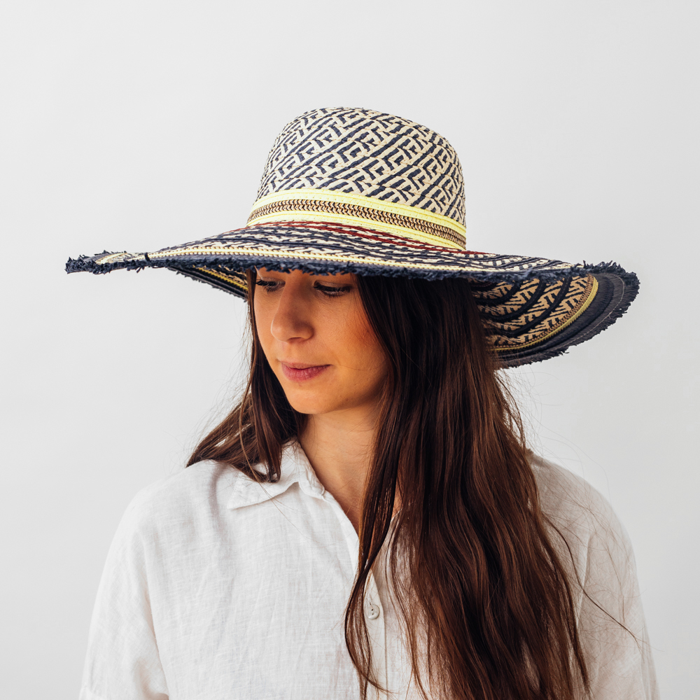 Unmade Combo Hat Navy