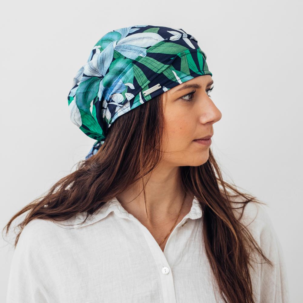 Seeberger Headscarf Tropic