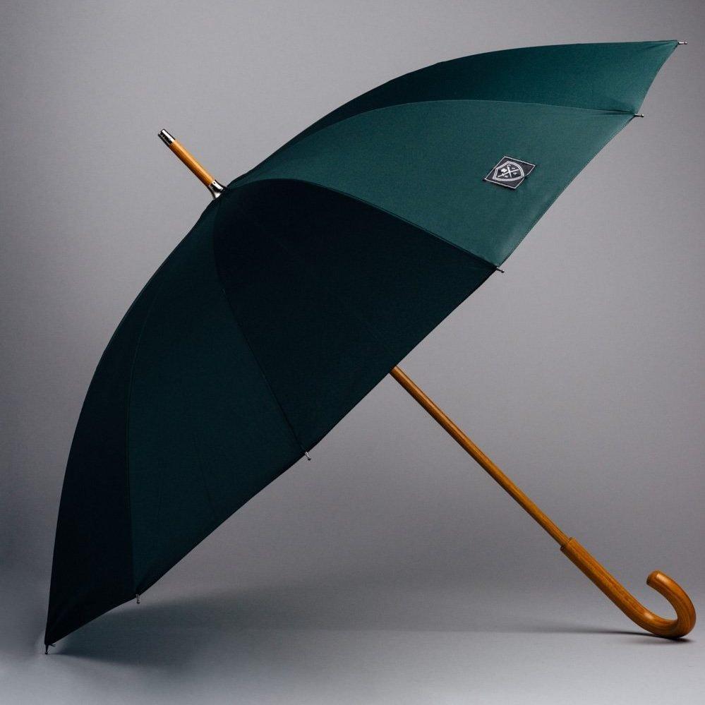 Rain & Son Klassisk Paraply Dark Green