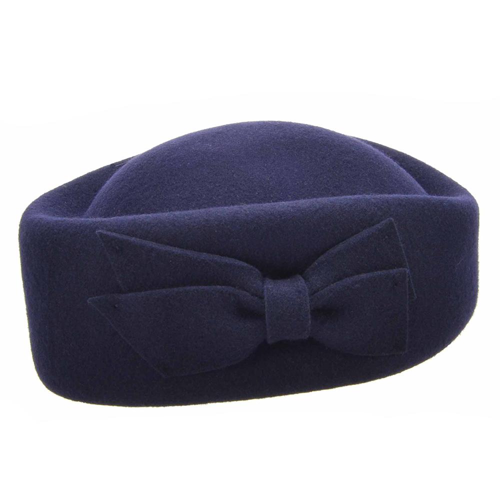Seeberger Pillbox Hat - Flera färgval