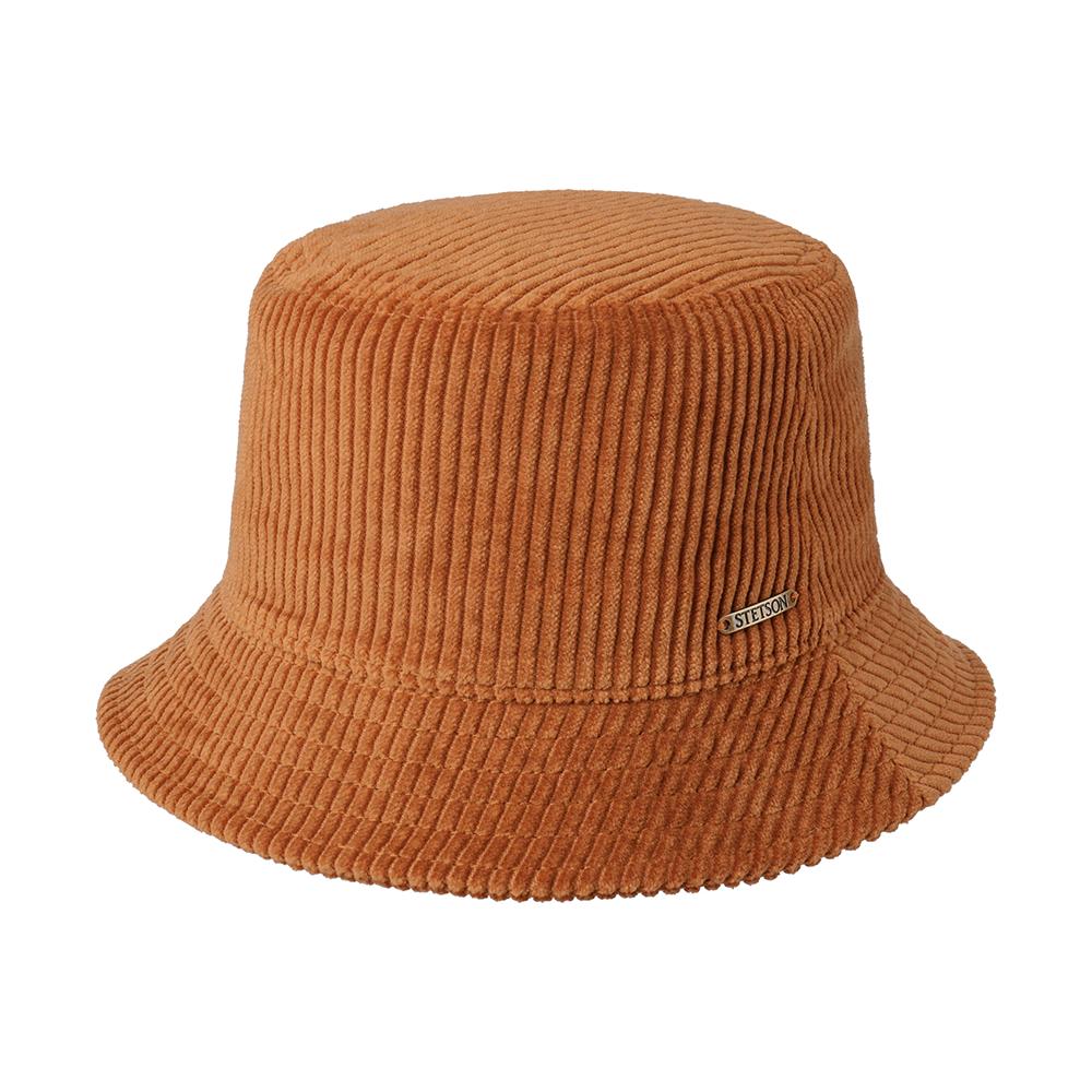 Stetson Bucket Hat Cord Rust