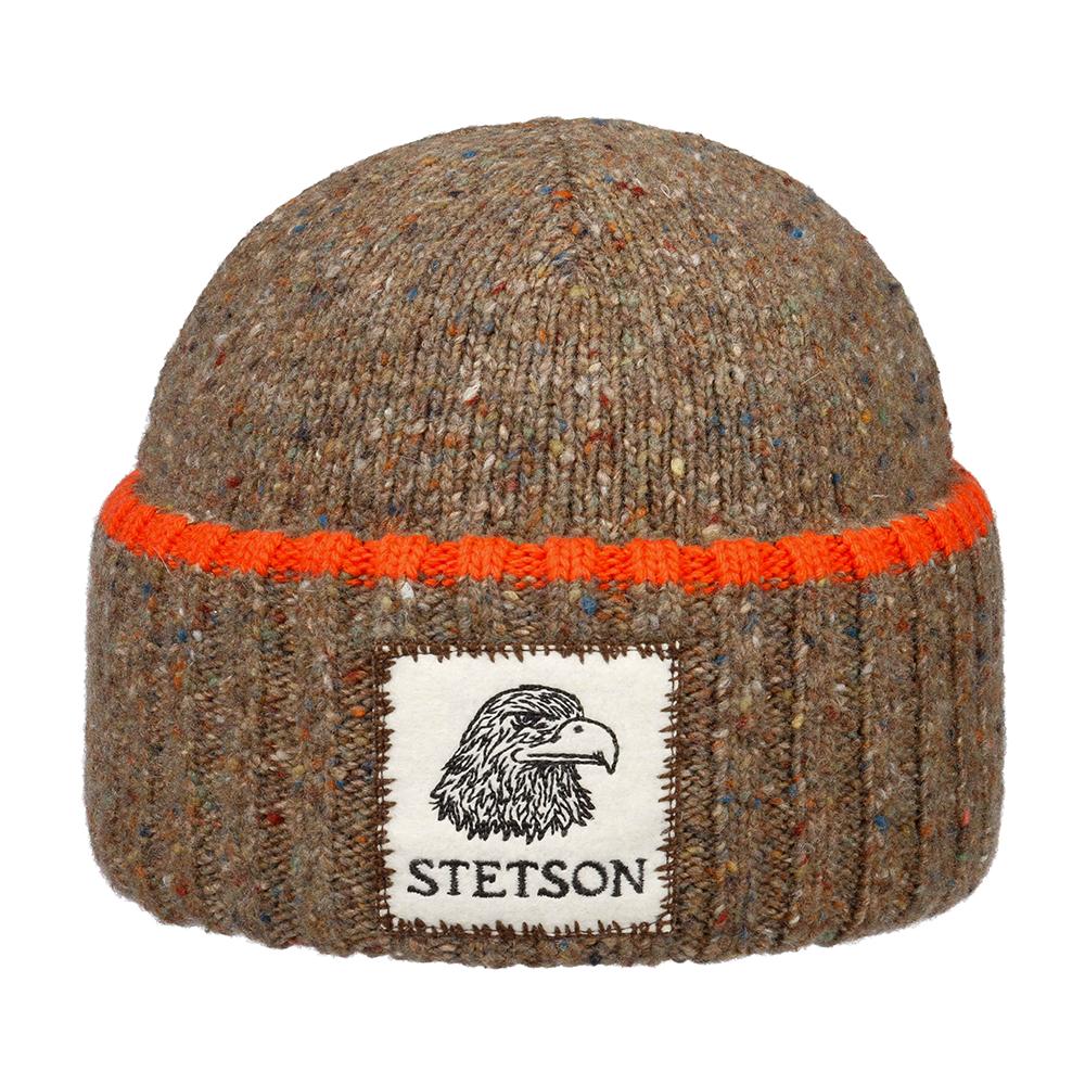 Stetson Beanie Eagle Brown
