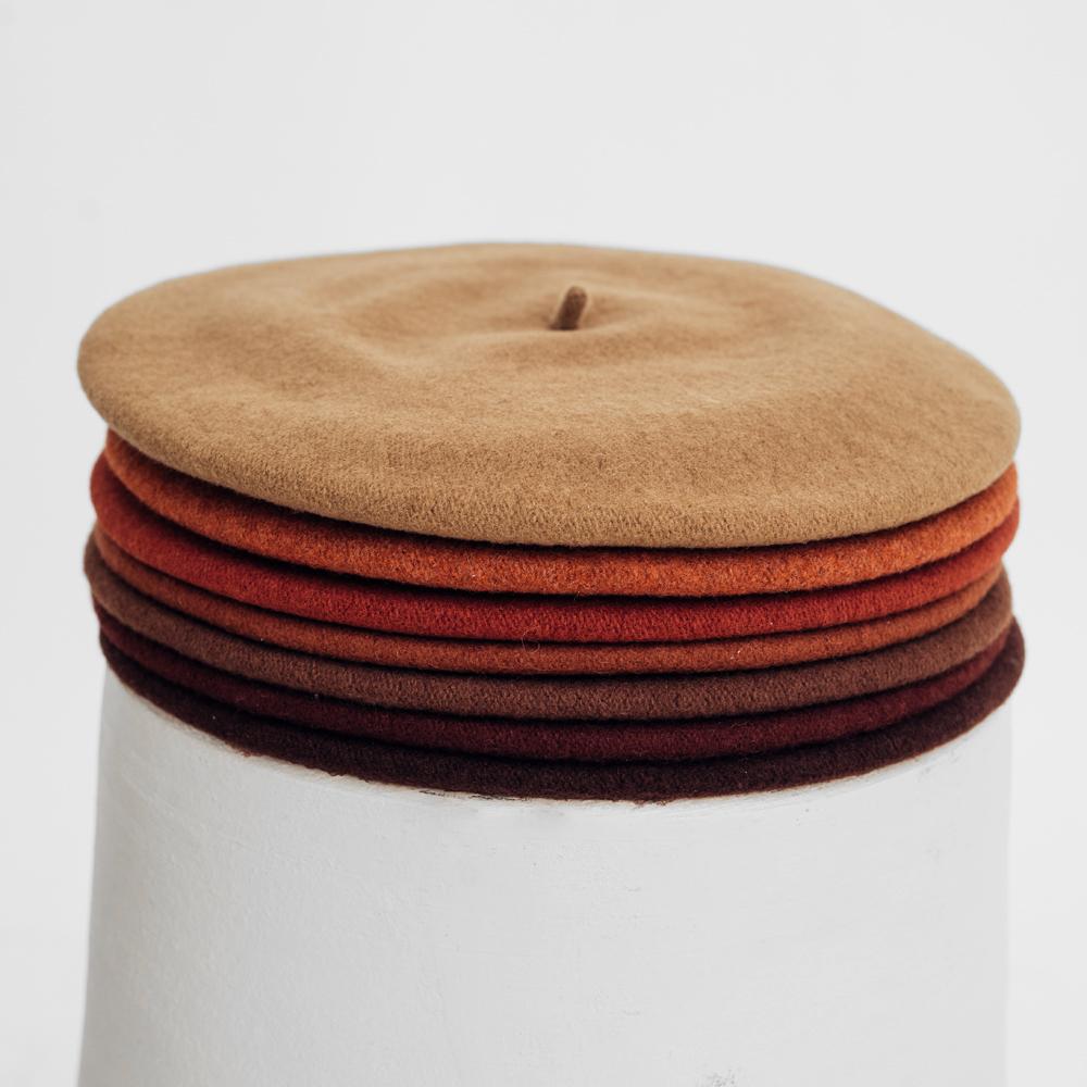 Hatthyllan Beret Palette - Brown