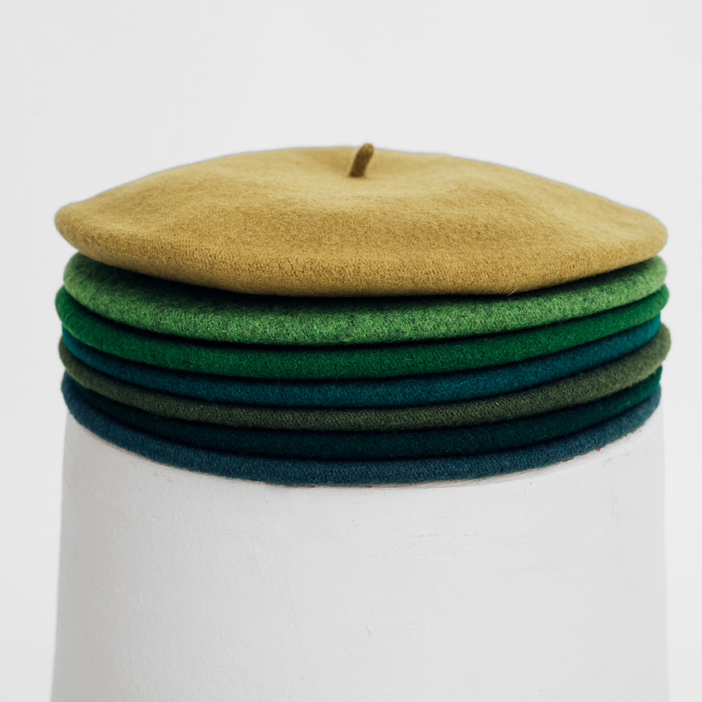 Hatthyllan Beret Palette - Green